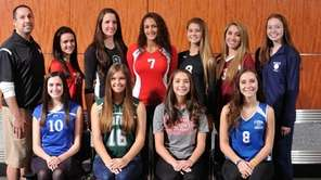 The 2015 Newsday All-Long Island girls' volleyball team