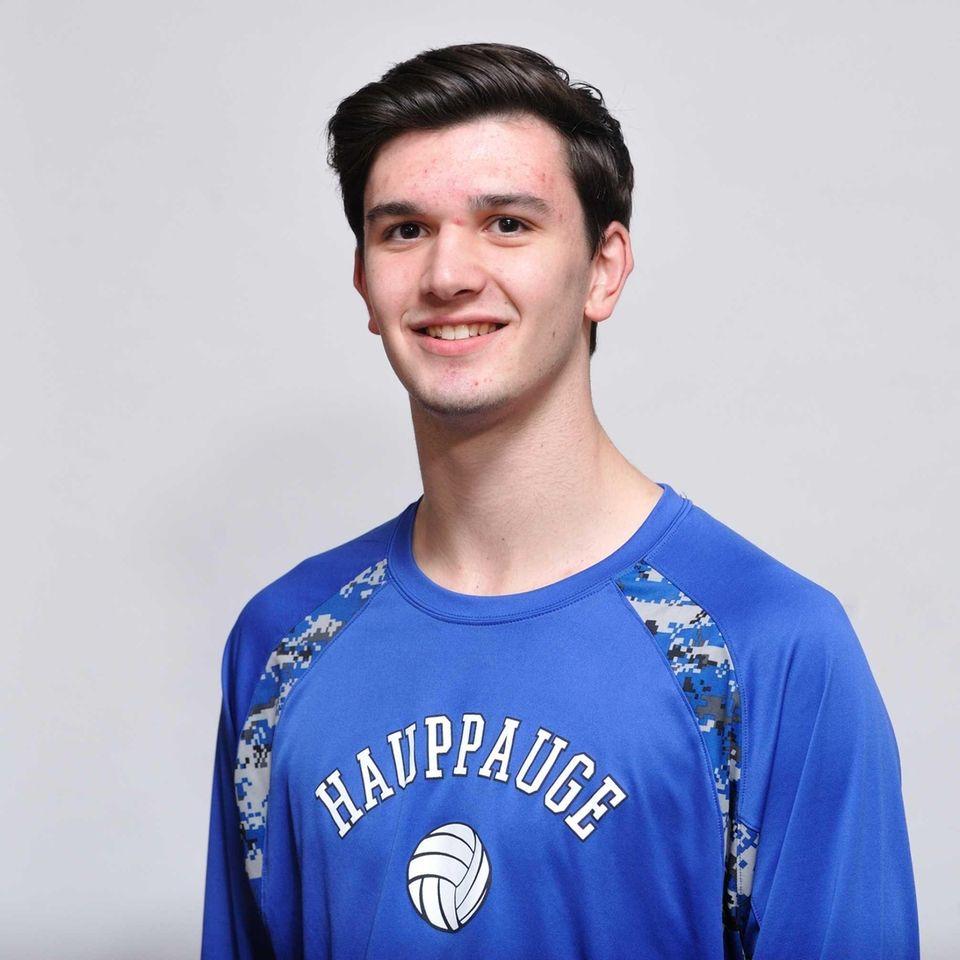 Andrew Tsororos led Hauppauge to the Class B