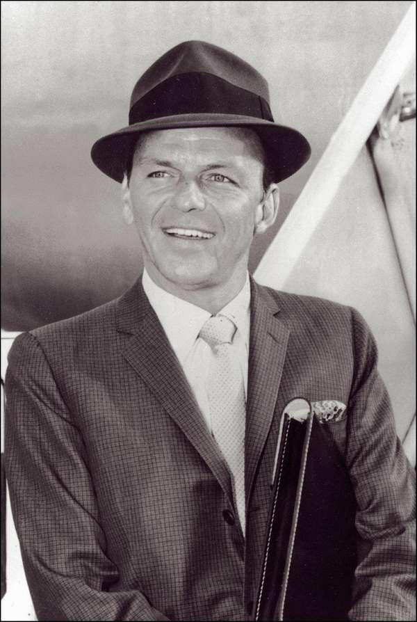Frank Sinatra, born Dec. 12, 1915, wears his