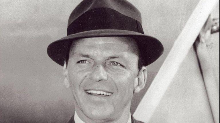Frank Sinatra, born Dec. 12, 1915, wears his