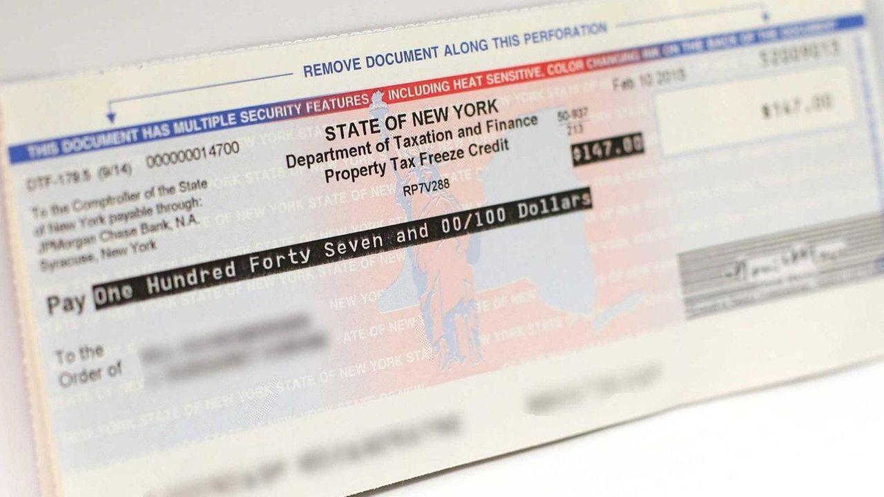 State Tax Rebate Checks Start To Arrive On Li Newsday