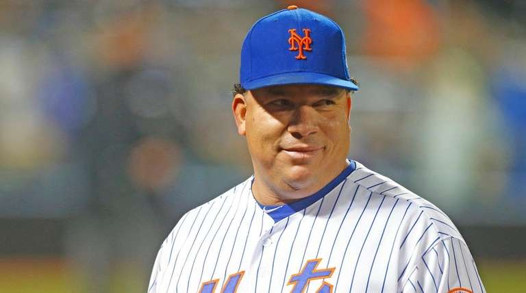 New York Mets starting pitcher Bartolo Colon