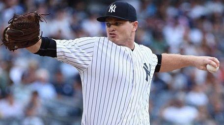 New York Yankees relief pitcher Justin Wilson