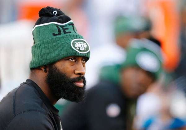 Darrell Revis of the New York Jets looks