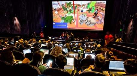 Minecraft enthusiasts can face off at 10:30 a.m.