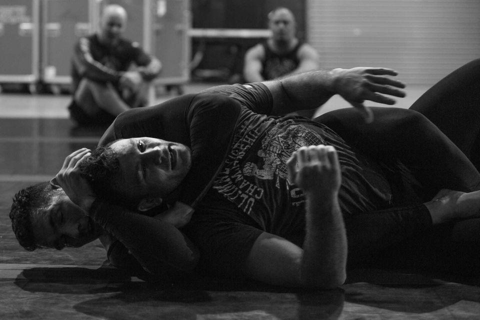UFC middleweight champion Chris Weidman of Baldwin puts