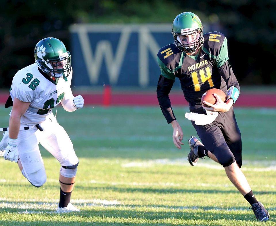 Ward Melville, Sr. Quarterback