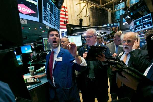 Stocks rose Thursday, Dec. 10, 2015, as the