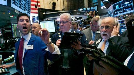 Stocks rose Thursday, Dec. 10, 2015, as the
