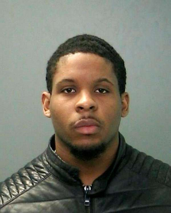 Duquan Faulk, 21, of West Babylon, was arrested