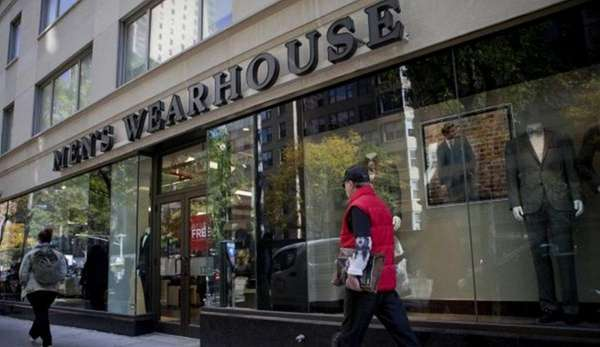 A Men's Wearhouse storefront on Oct. 24, 2013.