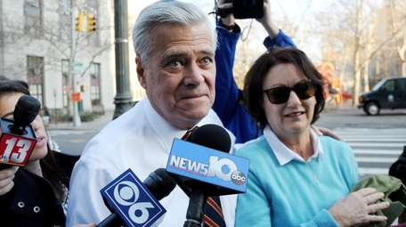 State Sen. Dean Skelos and his wife Gail