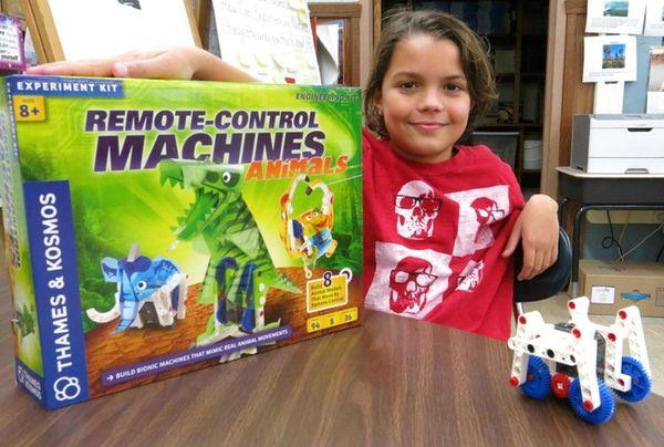 Kidsday reporter Christopher Falcone Remote Control Machines --