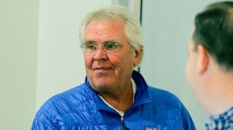 New York Rangers team president Glen Sather
