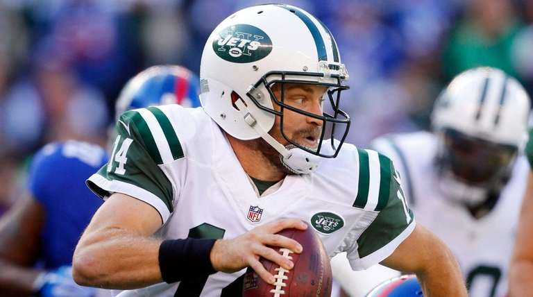 Ryan Fitzpatrick #14 of the New York
