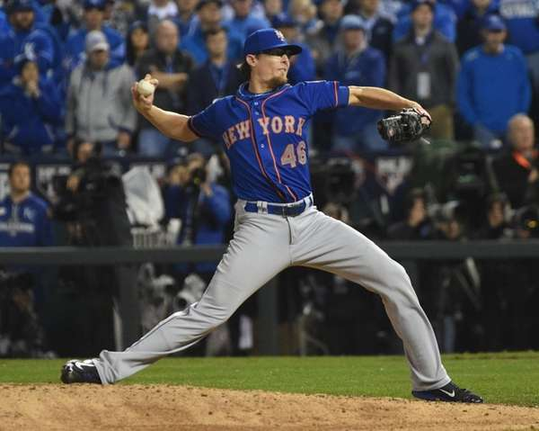 New York Mets relief pitcher Tyler Clippard