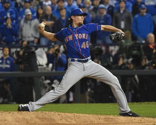 New York Mets relief pitcher Tyler Clippard