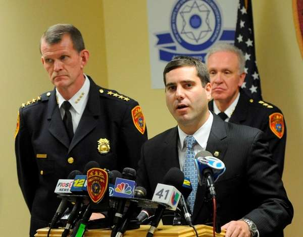 Suffolk Deputy Police Commissioner Tim Sini at a