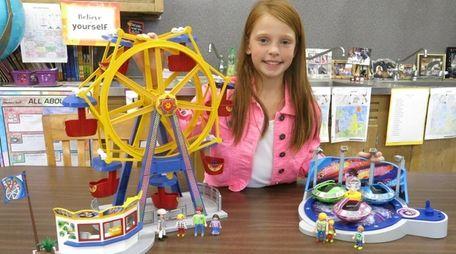 Kidsday reporter Katie Ciarlo tested new PlayMobil toys.
