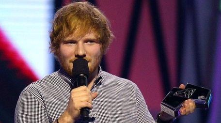 Chart-topping recording artist Ed Sheeran is