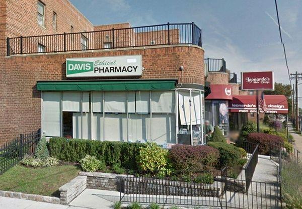 The former owner of Davis Ethical Pharmacy in