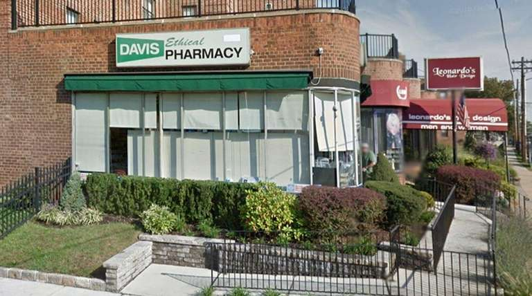 The former owner of Davis Ethical Pharmacy in