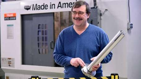 Charles Hansen, director of manufacturing at Visiontron, in