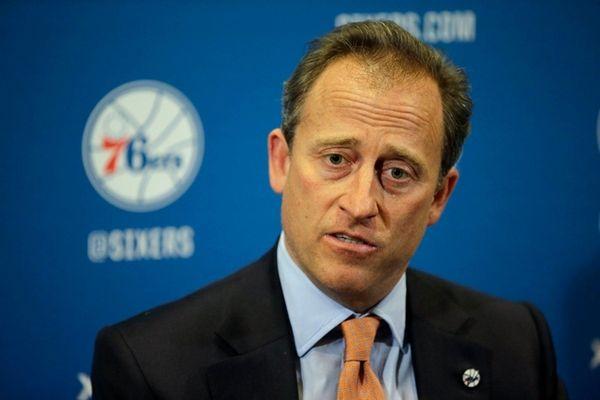 Philadelphia 76ers co-managing owner Josh Harris speaks