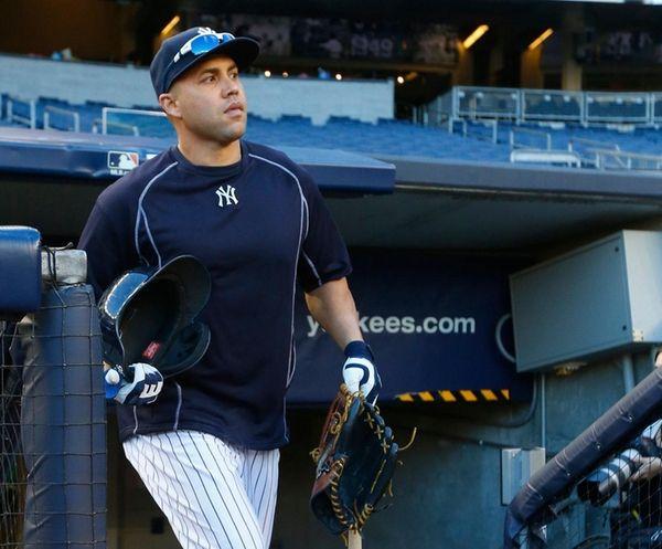 Yankees rightfielder Carlos Beltran, who had a good