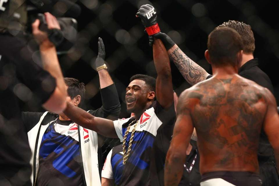 UFC bantamweight Aljamain Sterling of Uniondale defeated Johnny