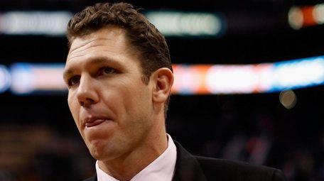 Golden State Warriors interim head coach Luke