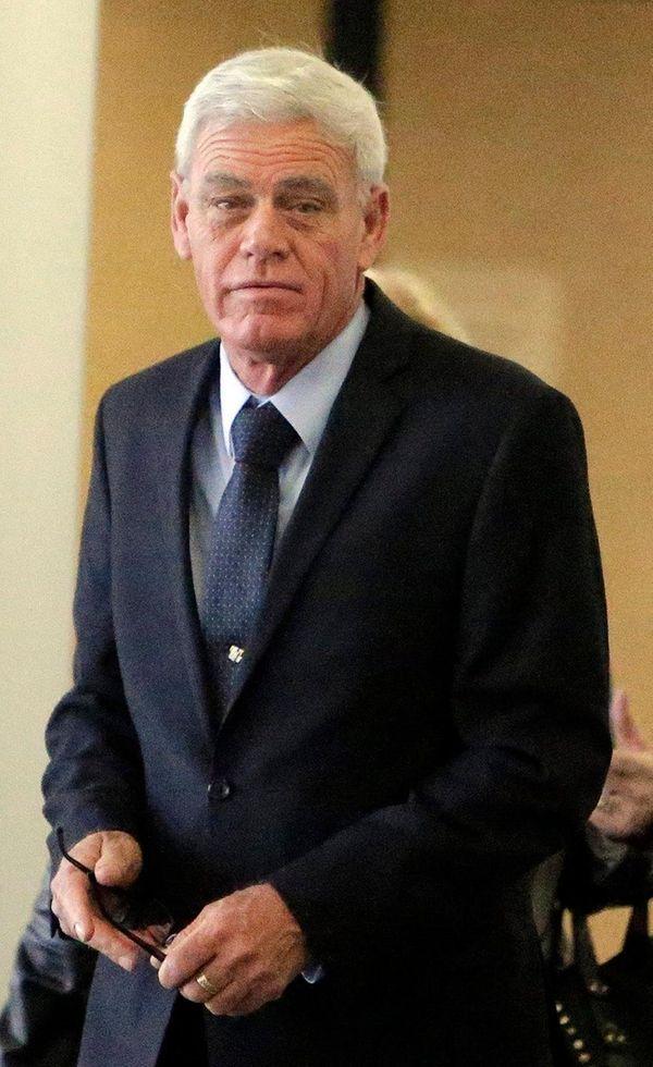 Former Smithtown Highway Superintendent Glenn Jorgensen was sentenced