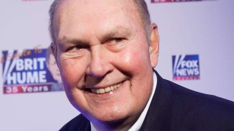 TV personality Willard Scott arrives at a celebration