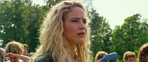 Jennifer Lawrence as Raven in the first trailer