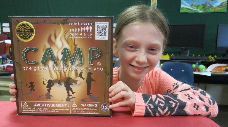 Kidsday reporter Desiree Sandifer tested the board game