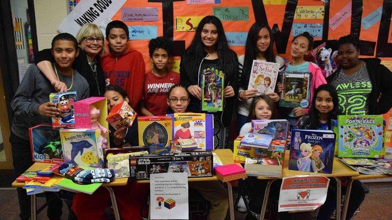 In Freeport, J.W. Dodd Middle School's Peer Medication