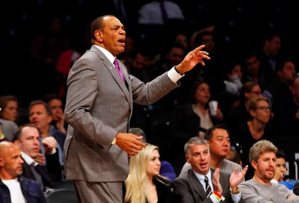 Head coach Lionel Hollins of the Brooklyn