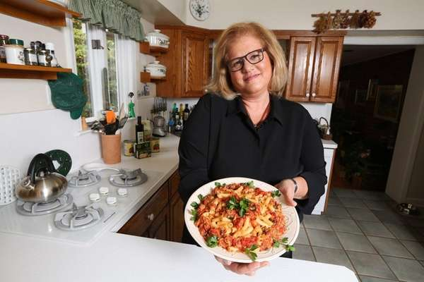 Agata Musco of Manhasset says her Penne Pasta