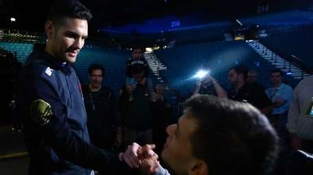 After Chris Weidman's weigh-in for UFC 194 at