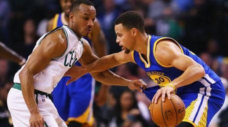 Avery Bradley #0 of the Boston Celtics