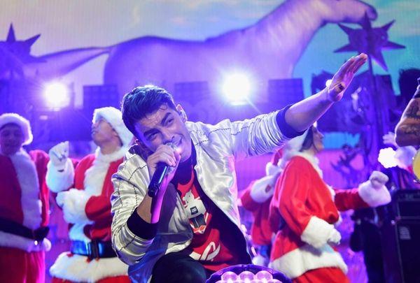 Joe Jonas of DNCE performs during Z100's Jingle
