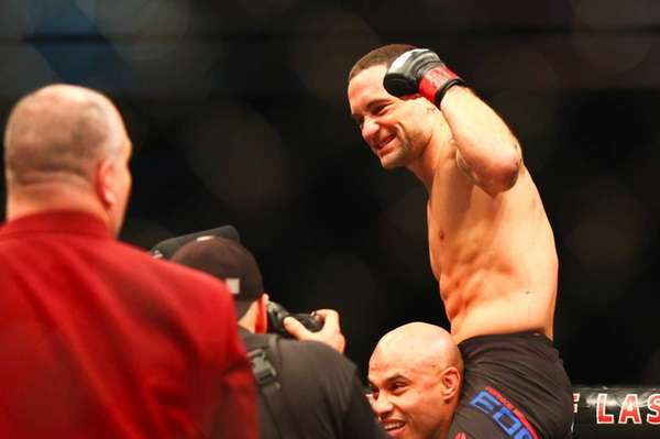 Frankie Edgar defeated Chad Mendes in their featherweight