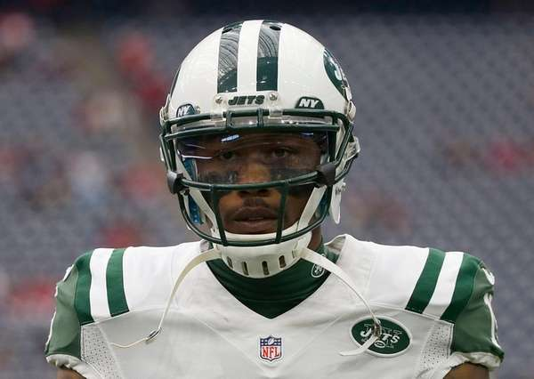 Jets wide receiver Brandon Marshall on Nov. 22,