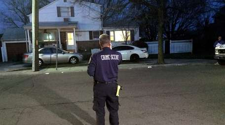 Nassau police detectives investigating a death at an