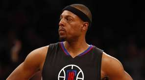 Paul Pierce #34 of the Los Angeles Clippers