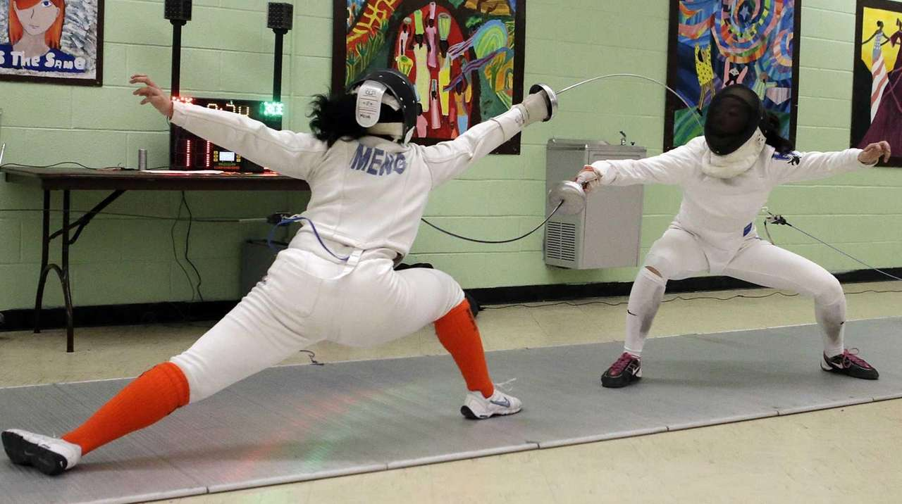All-Long Island girls fencing