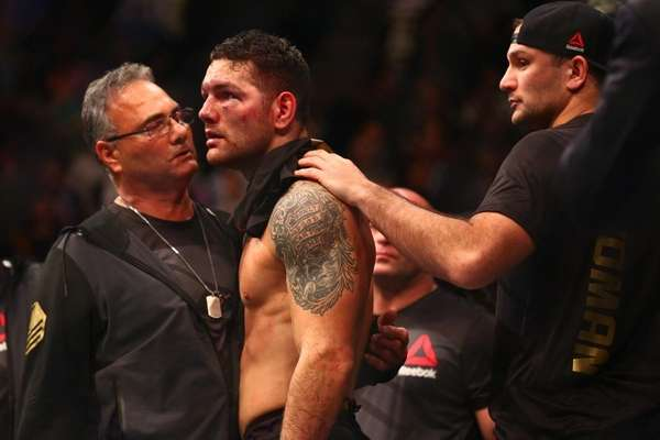 Chris Weidman lost his middleweight title to Luke