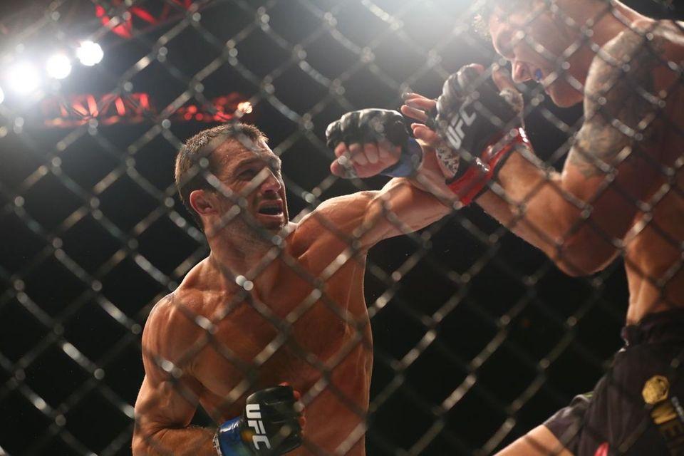Baldwin's Chris Weidman lost his UFC middleweight title