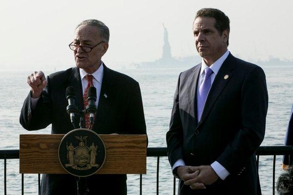 Sen. Chuck Schumer and Gov. Andrew M. Cuomo,