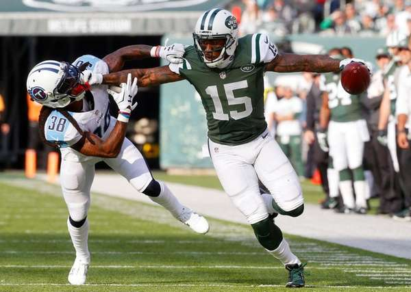 Jets' Brandon Marshall, who had six catches for